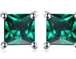 EMERALD EAR STUD 2