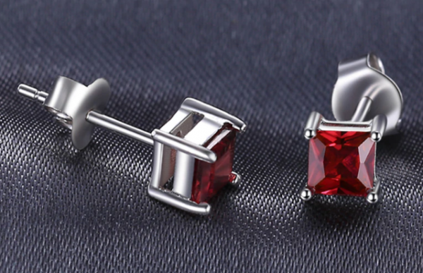 Ruby Ear Stud
